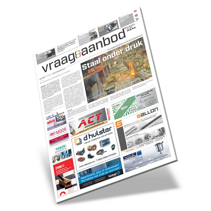 Vraag en Aanbod België vakkrant