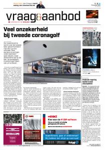 Vraag & Aanbod België cover origineel